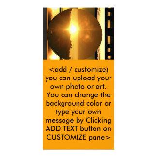 SOL - fonte de energia vital Cartão Com Foto