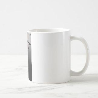 sol na rede da névoa caneca de café