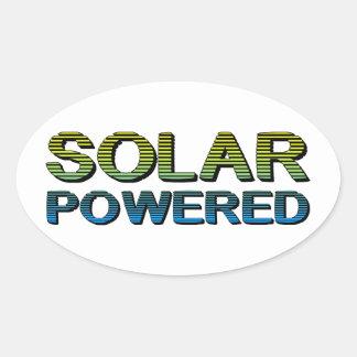 solar psto adesivo oval