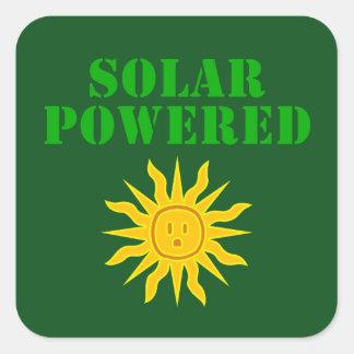 Solar psto adesivo quadrado