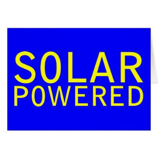 solar psto cartão comemorativo