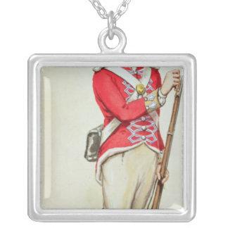 Soldado britânico em épocas de Napoleão Bijuterias Personalizadas