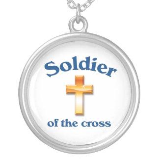 Soldado da cruz colar