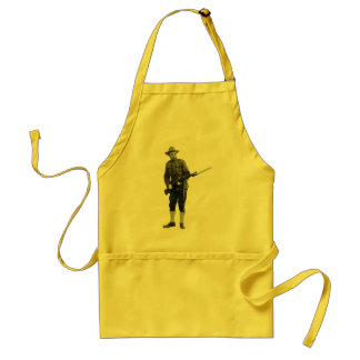 Soldado do Doughboy da Primeira Guerra Mundial do Avental