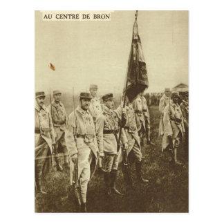 Soldados aliados em Bron Cartão Postal