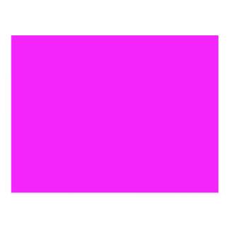 SOMENTE COR - rosa Cartão Postal