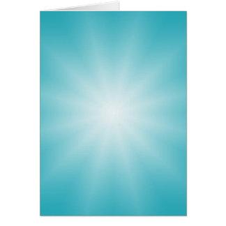 SOMENTE inclinações da COR - estrela azul de ocean Cartão Comemorativo
