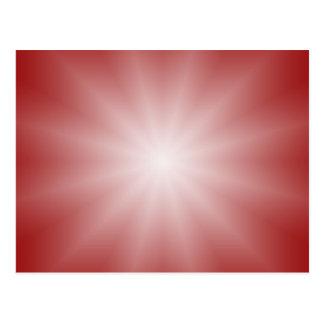 SOMENTE inclinações da COR - estrela vermelha do Cartão Postal