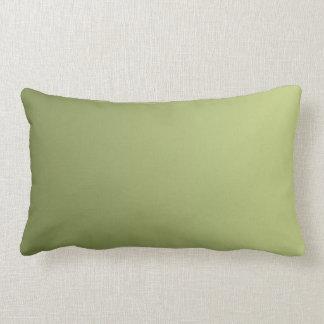 SOMENTE inclinações da COR - verde azeitona Almofada Lombar