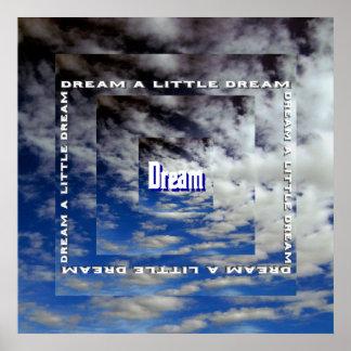 Sonhe um sonho pequeno poster