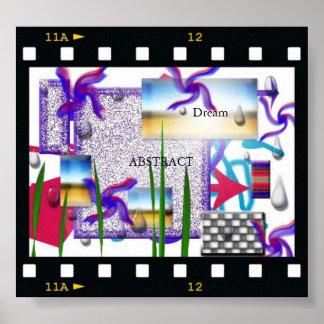 Sonho abstrato poster