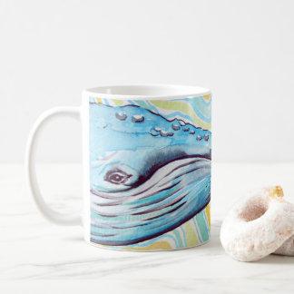 Sonho da baleia caneca de café