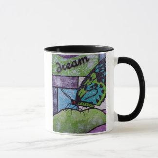 Sonho da borboleta caneca
