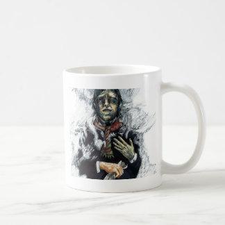 Sonho da neve caneca de café