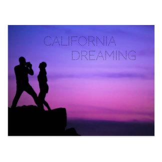 Sonho de Califórnia Cartão Postal