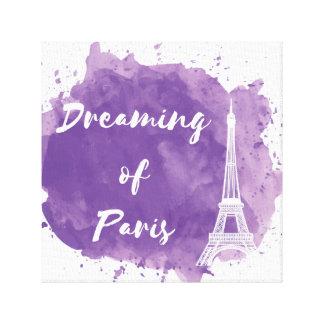 Sonho de Paris - arte da parede das canvas