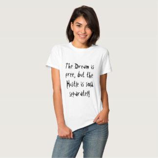 Sonho livre, convicção vendida separada t-shirt