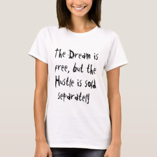 Sonho livre, convicção vendida separada tshirt