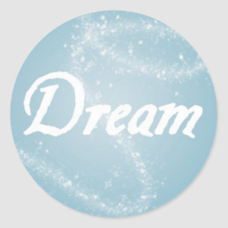 Sonho no azul adesivo
