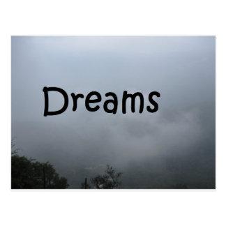 sonhos cartão postal