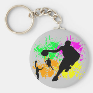 Sonhos do basquetebol chaveiro