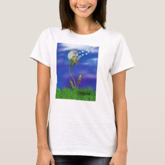Sonhos do polvo camisetas