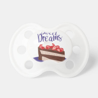 Sonhos doces chupeta de bebê
