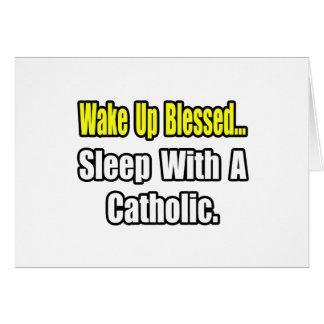Sono com um católico cartoes