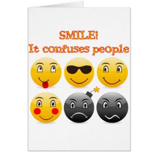 Sorriso Cartão