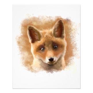 Sorriso do jogo do Fox Panfleto