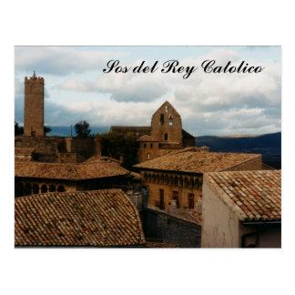 SOS del Rey Católico Cartão Postal