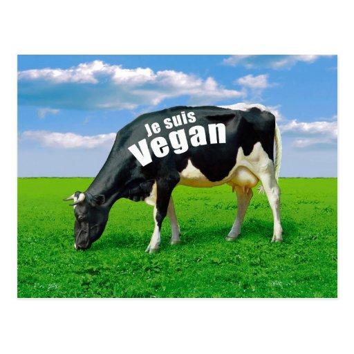 Sou Vegan Cartão Postal