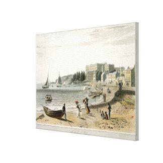 Southend, 'de uma viagem em torno de Grâ Bretanha  Impressão Em Tela Canvas