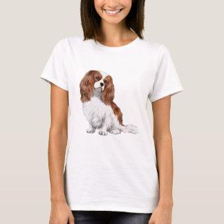 Spaniel de rei Charles descuidado (Blenheim A) Camisetas
