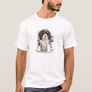 Spaniel de rei Charles descuidado Camisetas