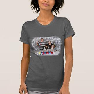 Spaniel de rei Charles descuidado - tiff de Darlin T-shirt