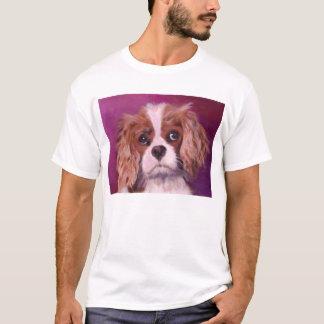 Spaniels de rei Charles descuidados Camiseta