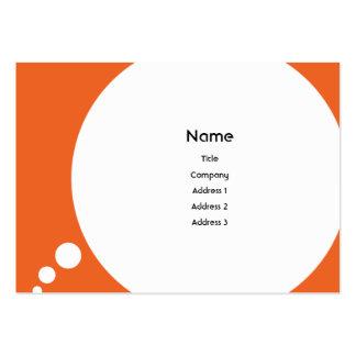 Speechbubble - carnudo cartão de visita grande