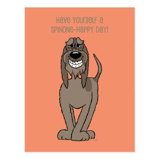 Spinone Smile Cartão Postal