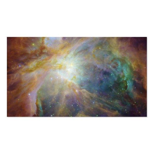 Spitzer e Hubble criam a obra-prima colorida Modelo Cartões De Visita