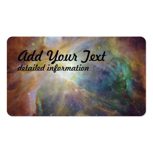 Spitzer e Hubble criam a obra-prima colorida Modelos Cartão De Visita