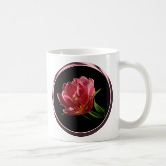 Spring Double Bloom Tulip Coffee Cup Mugs