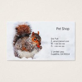 """Squirrel os cartões de visitas, 3,5"""" x 2,0"""", 100"""