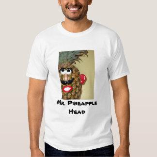 Sr. Abacaxi Cabeça T-shirt