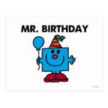 Sr. Aniversário Clássico Cartões Postais