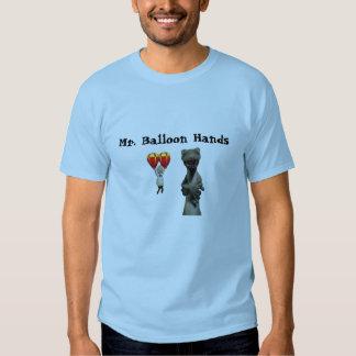 Sr. Balão Mão Camiseta