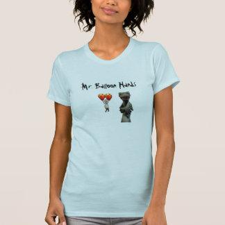 Sr. Balão Mão Camisetas