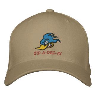 """Sr. Bluebird """"ZIP-A-DEE-AY """" Boné Bordado"""