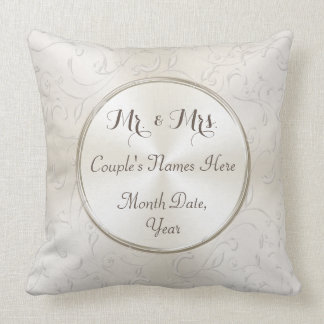 Sr. e Sra. Presente Ideia, travesseiro Almofada