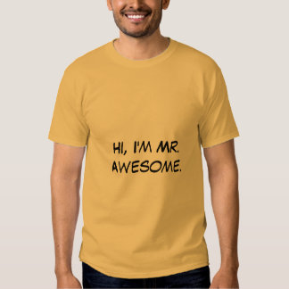 Sr. Impressionante T-shirt